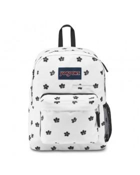 JanSport Digibreak Laptop Backpack White Cherry Blossom