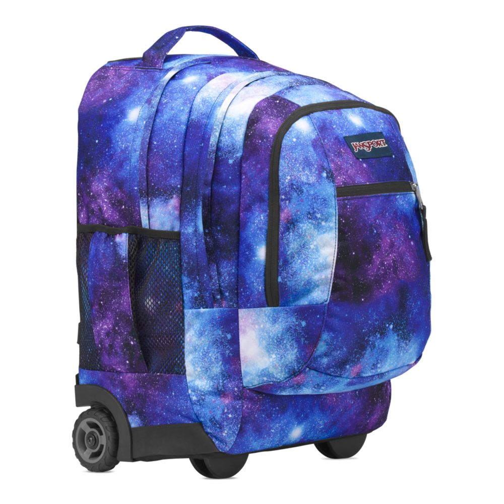 d1117b435540 JanSport Driver 8 Rolling Backpack Deep Space Galaxy • Backpacks for ...