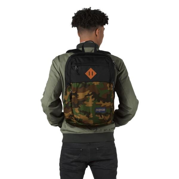 JanSport Fremont Backpack Camo/Black Diamond