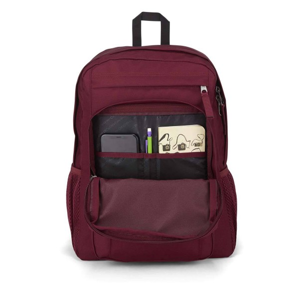 JanSport Union Pack Backpack Russet Red