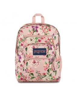 JanSport Big Student Backpack Pink Bouquet Floral