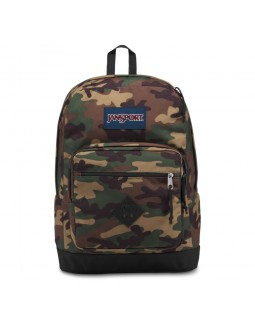 JanSport City Scout Backpack Surplus Camo