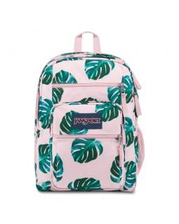 JanSport Big Student Backpack Monstera Palm Leaves