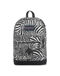 JanSport City View Remix Backpack Zebra Prince