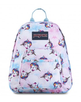 JanSport Half Pint Mini Backpack Unicorn Clouds
