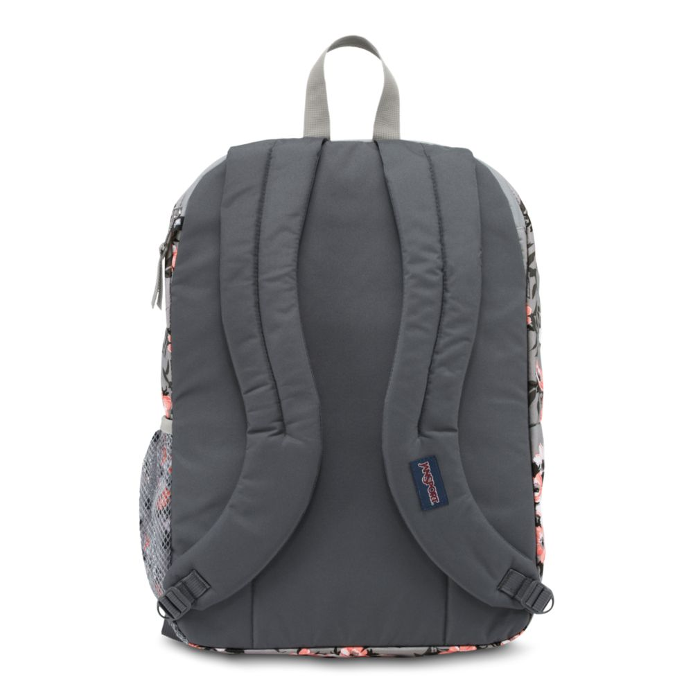 JanSport Digital Student Laptop Backpack Coral Sparkle Pretty Posey ... 54b89c8fa0