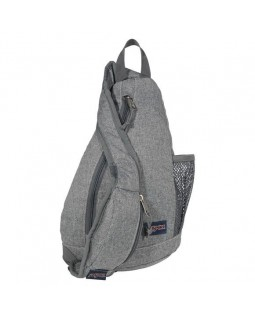 JanSport Soho Sling Bag Grey Letterman Poly
