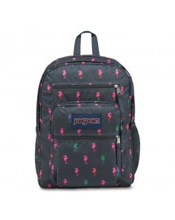 JanSport Big Student Backpack Dark Slate Seahorse