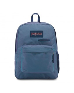 JanSport Digibreak Laptop Backpack Blue Jay Yarn Dye