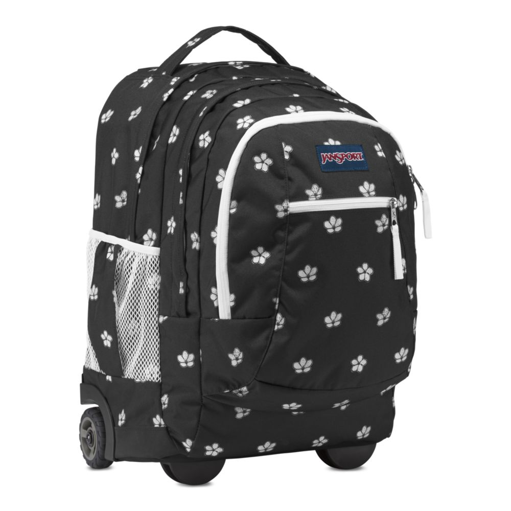 1afa88ef3bdf JanSport Driver 8 Rolling Backpack Cherry Blossom Floral • Backpacks ...