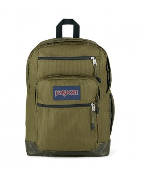 JanSport Cool Student Remix Backpack Cord Weave Army Green