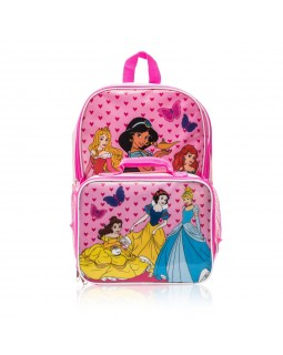 Disney Princess Backpack with Lunch Bag