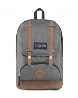 JanSport Cortlandt Backpack Black White Herringbone