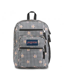 JanSport Big Student Backpack Gingham Daisy Floral