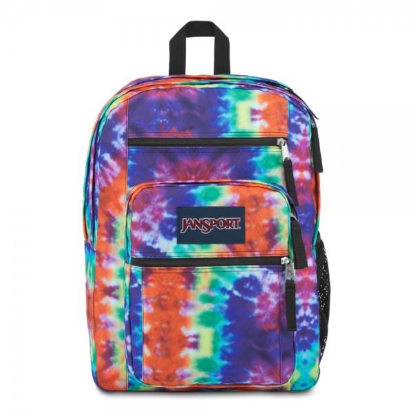 JanSport Big Student Backpack Hippie Days Tie Dye