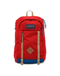 JanSport Foxhole Backpack Red Tape