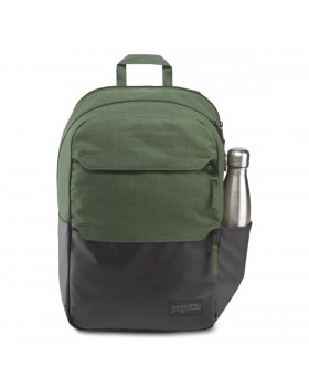 JanSport Ripley Backpack Muted Green Heathered 600D