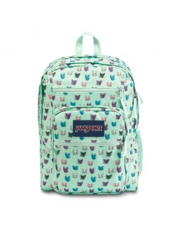 JanSport Big Student Backpack Brook Green Cool Cats