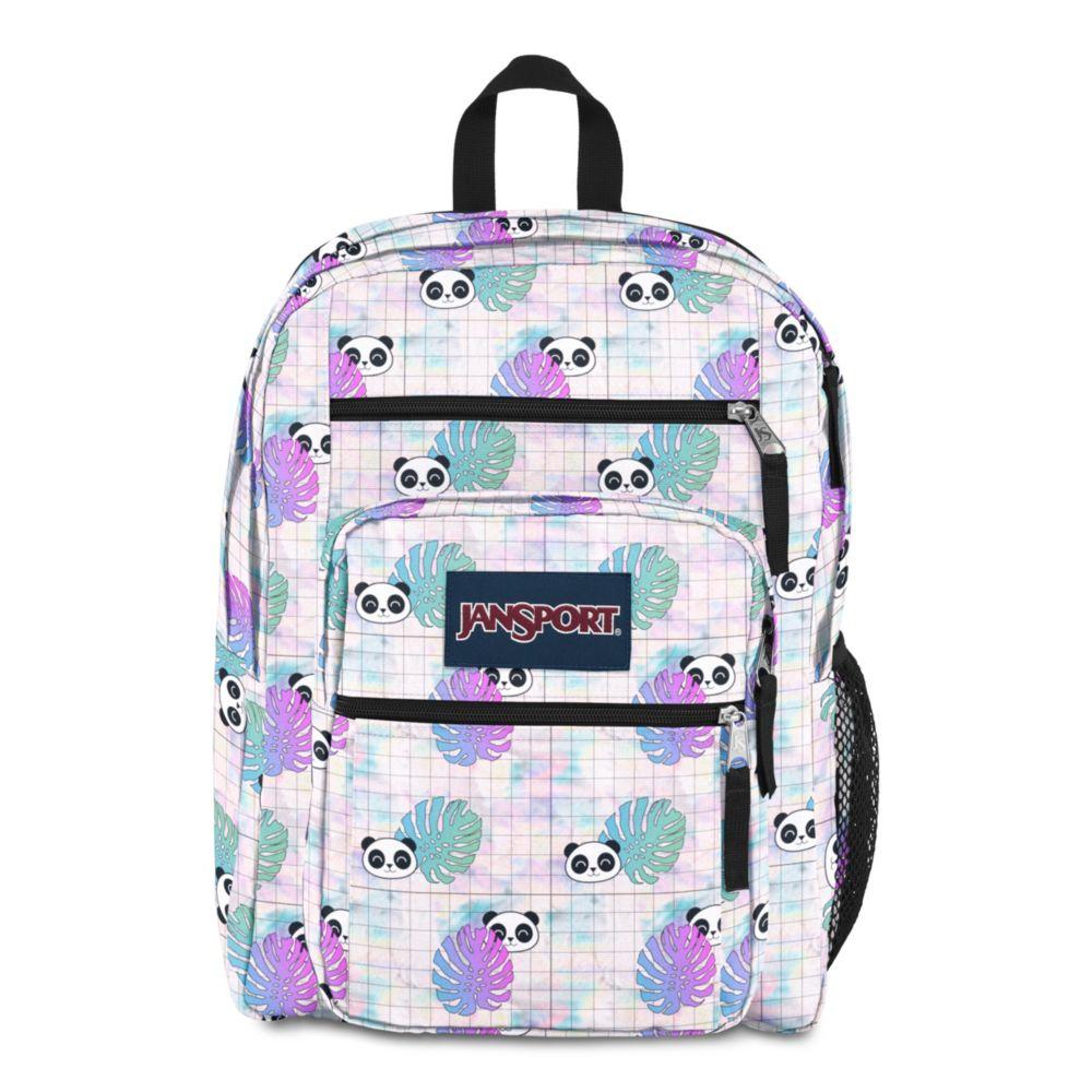 JanSport Big Student Backpack Hide and Seek Panda