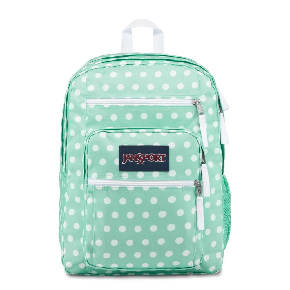 JanSport Big Student Backpack Cascade Polka Dot