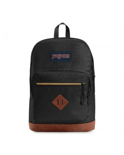 JanSport City View Remix Backpack Black Mix Wavy Twill