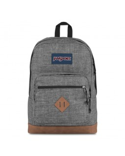 JanSport City View Backpack Heathered 600D