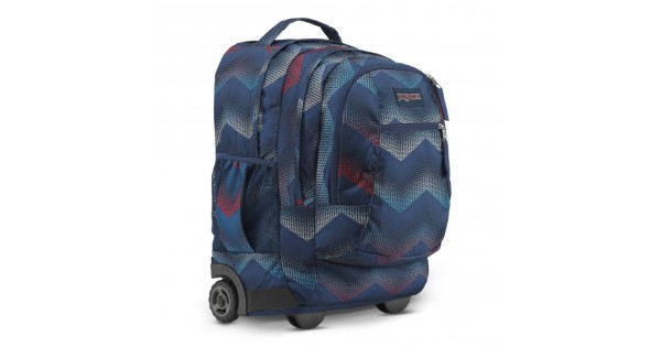 9e792475a987 JanSport Driver 8 Rolling Backpack Matrix Chevron Navy • Backpacks for  School • Handbags Vogue
