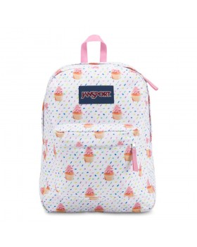 JanSport Superbreak Backpack Cupcakes