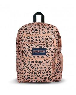 JanSport Big Student Backpack Pink Party Cat