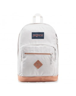 JanSport City View Remix Backpack Pebbled Rose Gold
