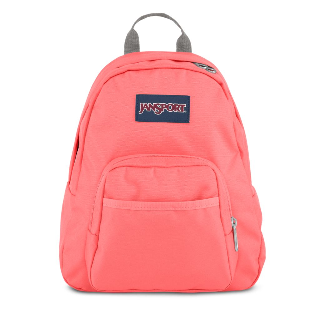 JanSport Half Pint Mini Backpack Coral Sparkle • Daypacks • Handbags ... 7dc75fa85a