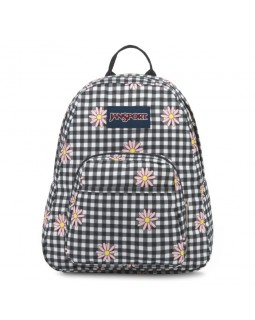 JanSport Half Pint Mini Backpack Gingham Daisy Floral