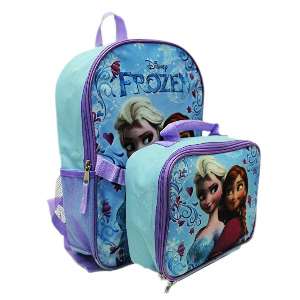 9b1c7d25309 Disney Frozen Anna Elsa Backpack with Detachable Insulate Lunch Kit 15   Full  Size