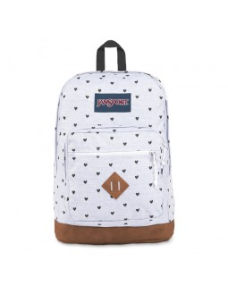JanSport City View Remix Backpack Tiny Hearts