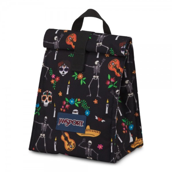 Jansport Rolltop Lunch Bag Day Of The Dead