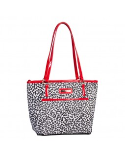 Simon Chang Ladies Cooler Bag Leopard Print / Black