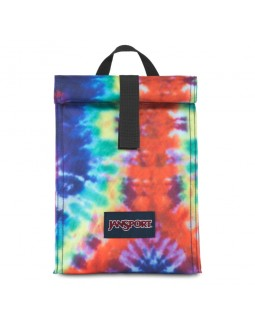 Jansport Rolltop Lunch Bag Hippie Days Tie Dye