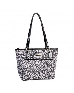 Simon Chang Ladies Cooler Bag Leopard Print / Red
