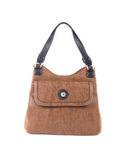 Mouflon Journey Tote Bag Tan / Black