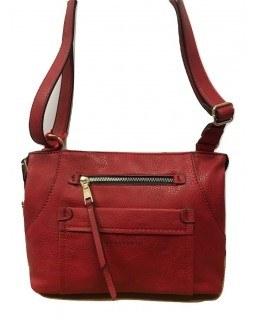 KGB Studio Crossbody Handbag Pamela Red
