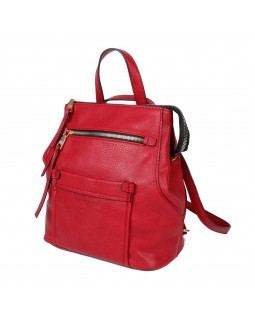 KGB Studio Convertable Backpack Fashion Day Red