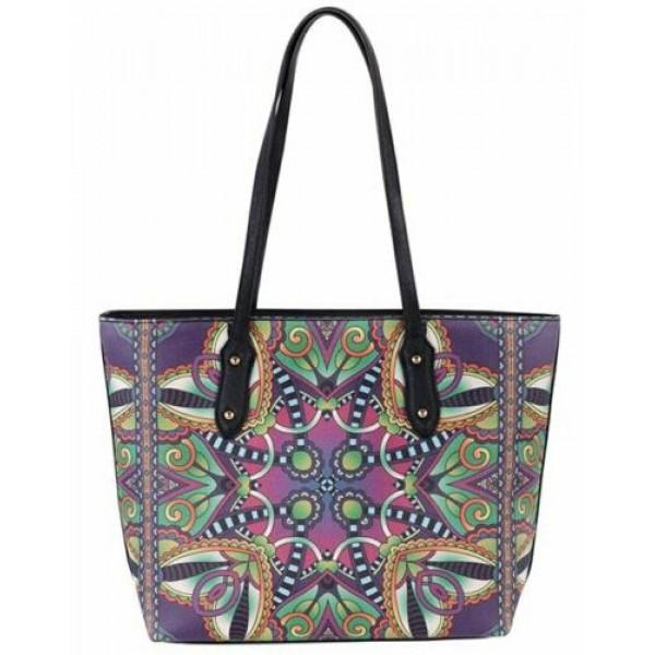 David Jones Paris Shoulder Handbag Multi Color