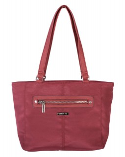 Roots 73 Lunch Handbag Burgundy