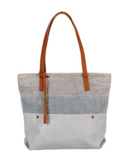 KGB Shoulder Handbag Sheila Light Grey