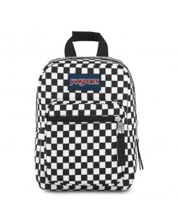 JanSport Lunch Bag Big Break Finish Line Flag Check