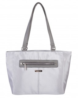 Roots 73 Lunch Handbag Light Grey