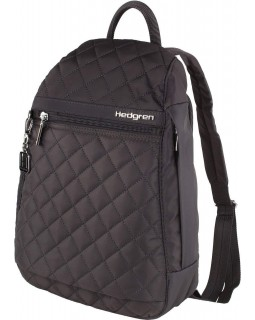 Hedgren Backpack Bag Diamond Touch Pat 296 Periscope Dark Grey