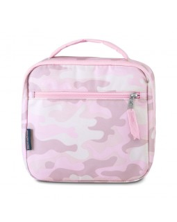 JanSport Lunch Break Box Bag Cotton Candy Camo