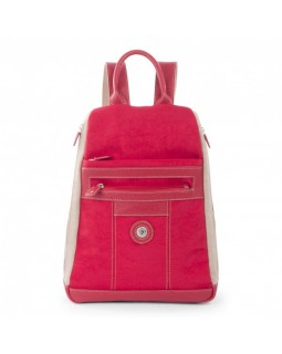 Mouflon Bicolor Backpack Red / Taupe