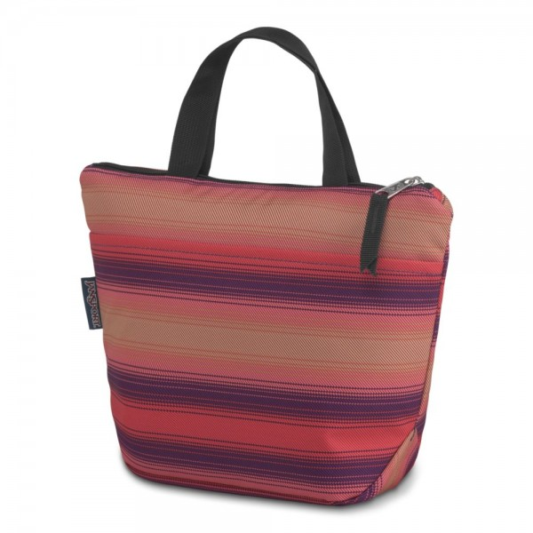 JanSport Lunch Tote Sunset Stripe